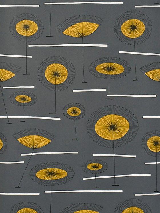 Mustard Design Wallpaper : Missprint wallpaper interior accessories colourful