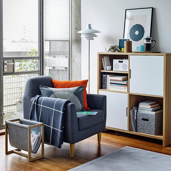 Modular Cube Storage solutions for small spaces