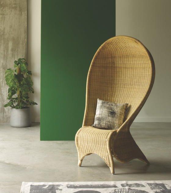 Habitat Harpa Rattan Chair
