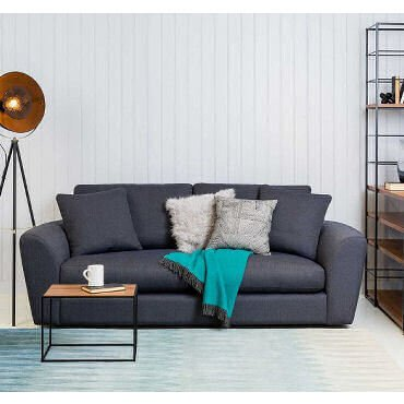 Heal's Snooze contemporary fabric sofa