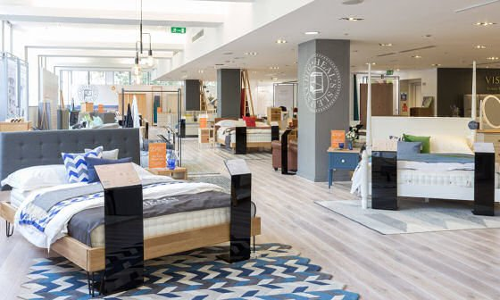 The new Heal's Sleep Studio at their Tottenham Court Road store