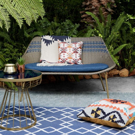 if you like your outdoor colour and pattern a little more understated how about the dakara havana outdoor furniture range also from john lewis - Garden Furniture The Range