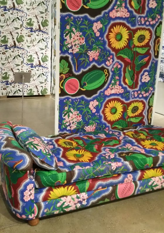Josef Frank textiles exhibition at the Fashion& Textile Museum u2022 Colourful Beautiful Things