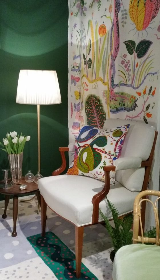 Josef Frank and Svenskt Tenn textiles and furniture at Fashion & Textiles Museum show