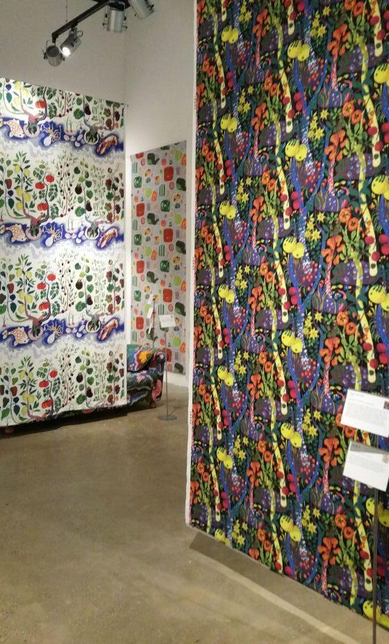 Josef Frank textiles at the Fashion & Textile Museum London