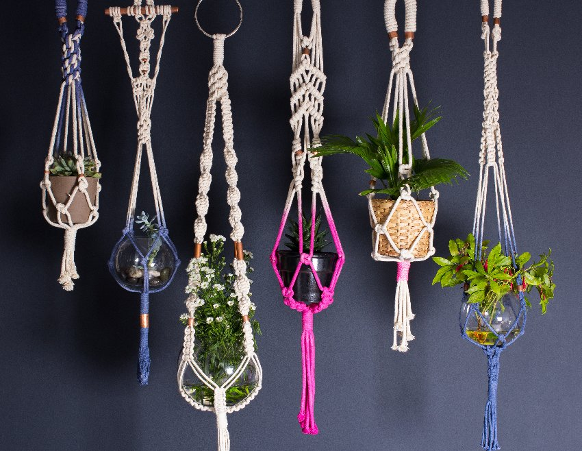 how to make a macrame plant hanger contemporary macram 233 plant hangers from knot 7278