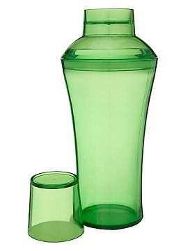 John Lewis Botanical Brights Edit: green acrylic Cocktail Shaker