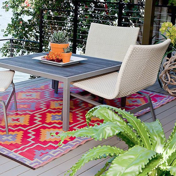 colourful outdoor rugs from cuckooland colourful. Black Bedroom Furniture Sets. Home Design Ideas