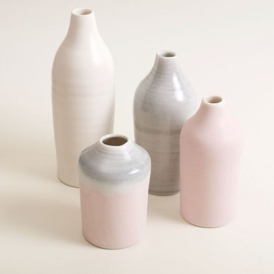 Linda Bloomfield ceramic bottles at Handmade at Kew 2016