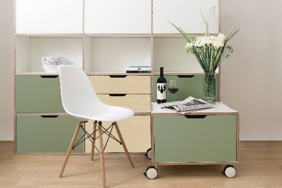 Morfus modular furniture for contemporary small spaces