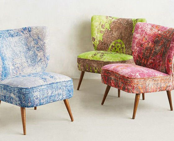 moresque small accent chair by anthropologie. Black Bedroom Furniture Sets. Home Design Ideas