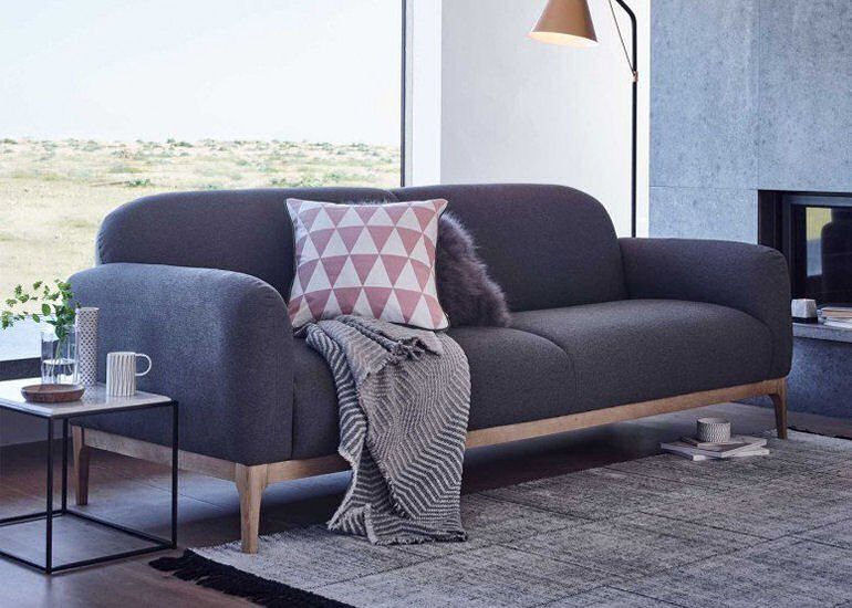 Heal's Morten Scandi-style contemporary compact sofa for small spaces
