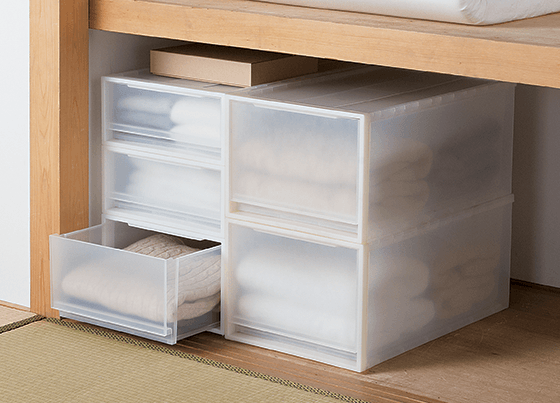 Muji Stacking PP Storage Boxes