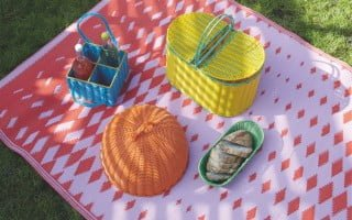 Outdoor rugs feature