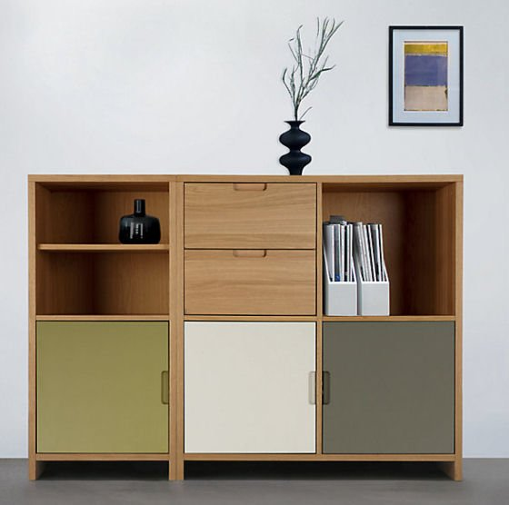 John Lewis Oxford Modular Storage Cube Units offer versatile small space storage solutions