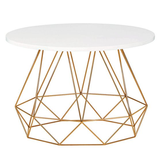 The LOFT Lena Copper Coffee Table for small spaces