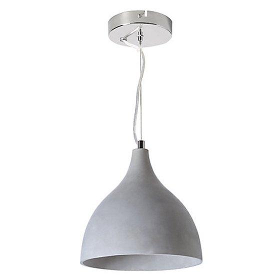 Parry concrete pendant light