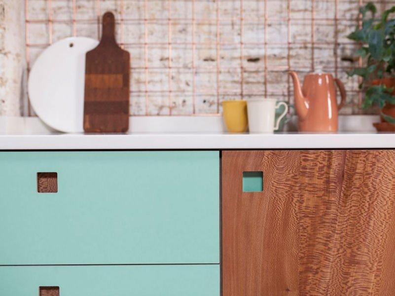 Pluck bespoke handmade kitchen in London