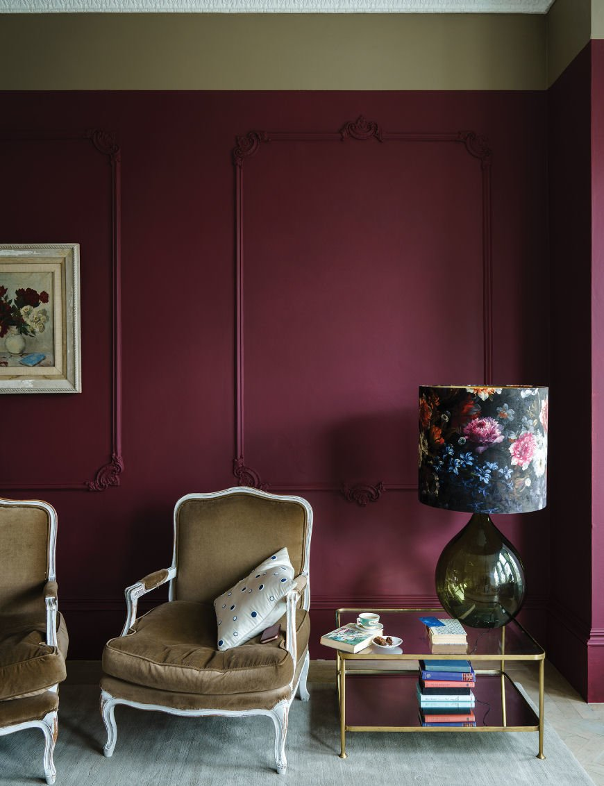 Preference Red, Farrow & Ball new colours 2018