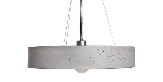 Rota concrete pendant