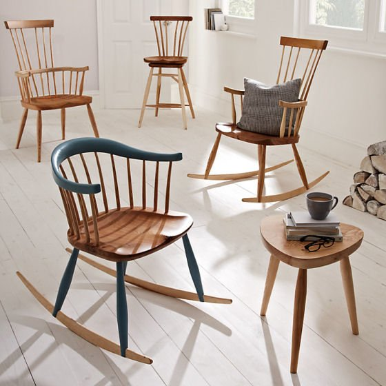 Contemporary Windsor Chairs by Sitting Firm for the John Lewis Croft Collection