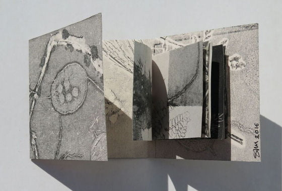 Field and Hedgerow artists book