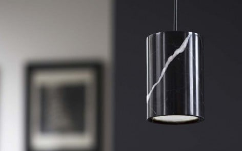 Terence Woodgate Cylinder Pendant Lights feature