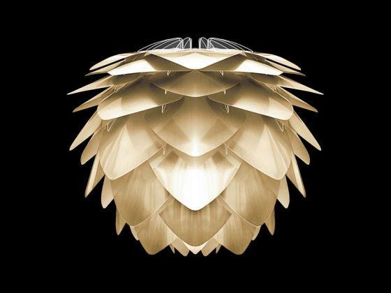 Vita Silvia lampshade in brushed brass