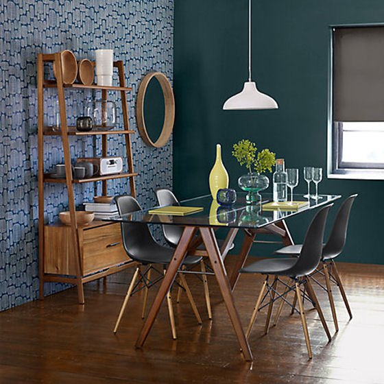 Mid century style dining table - Jensen range by West Elm