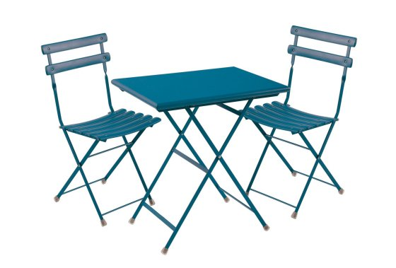 Arc en Ciel Bistro Set in blue from John Lewis
