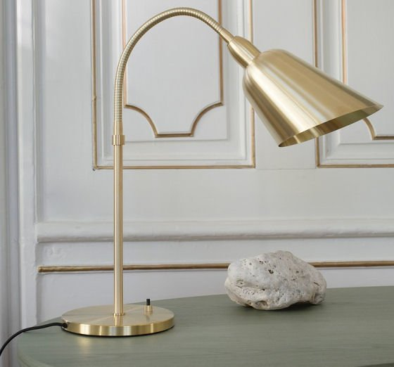 &Tradition Bellevue Brass Desk Lamp