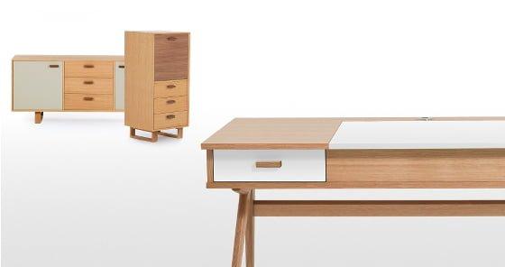 Designer Schreibtisch Wohnstil Steuart Padwick