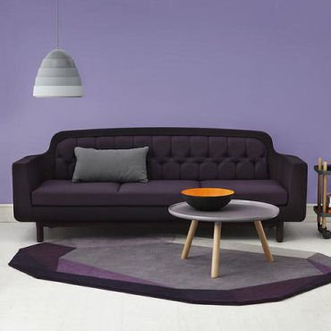 Onkel contemporary fabric sofa by Normann Copenhagen