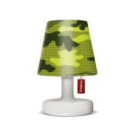 Fatboy Edison-le-Petit outdoor lamp with Cooper Cappie Lampshade Camouflage Green