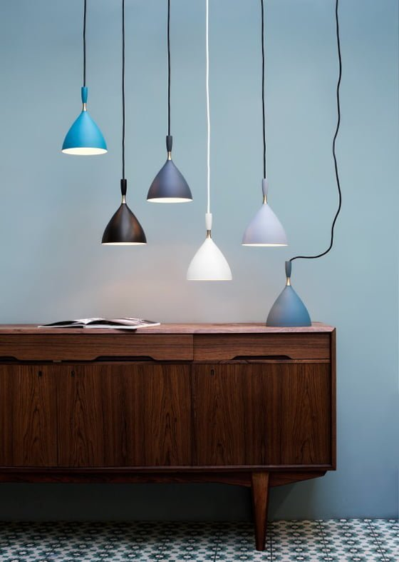 Dokka pendant lights from Heal's