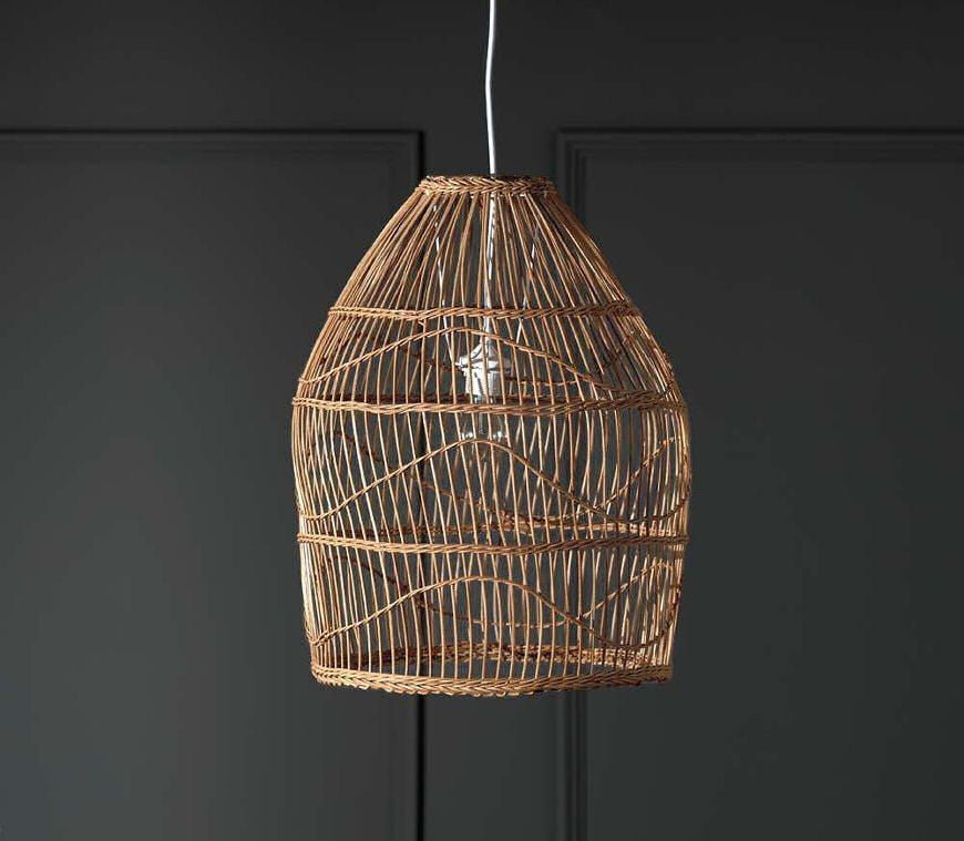 Zolan Rattan Pendant Light from Graham and Green
