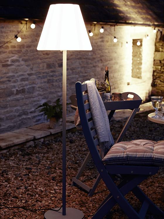 Cox and Cox Elsa Outdoor Standard Lamp