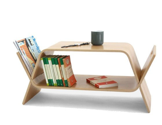 The Embrace Coffee Table with storage for small spaces