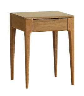 Ercol Side Table with storage drawer