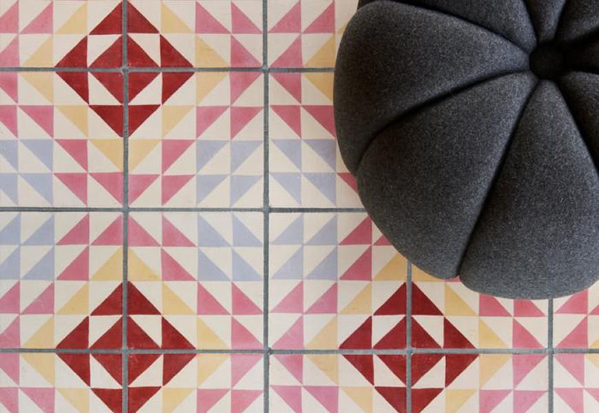 Bert & May X Soho Home patterned tiles collaboration with Soho Home