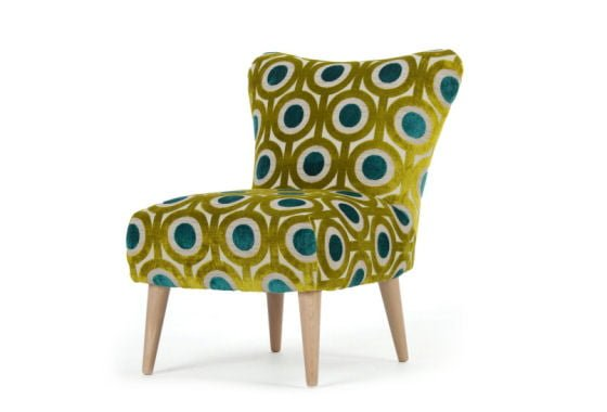 Finch arte peacock chair by for Armchairs for small spaces