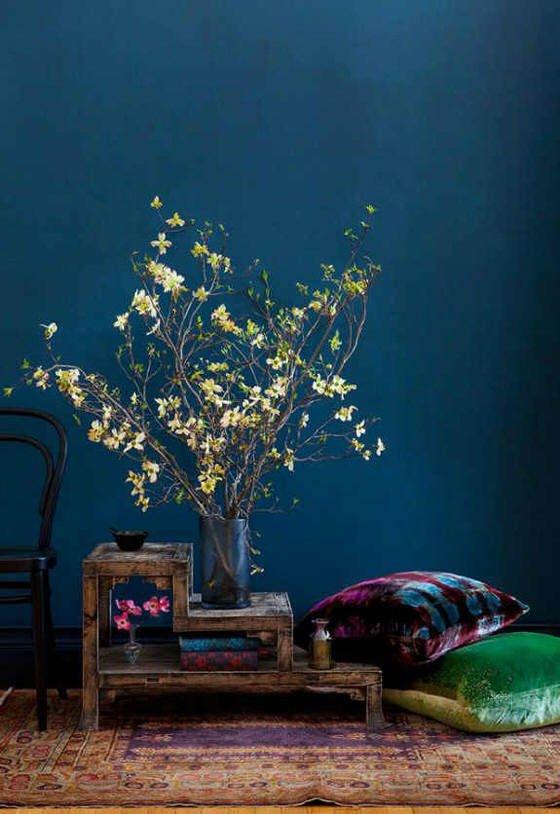 Around Midnight: Dark Blue Walls • Colourful Beautiful Things
