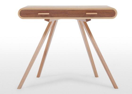 Oak and walnut Fonteyn Desk by Steuart Padwick for MADE