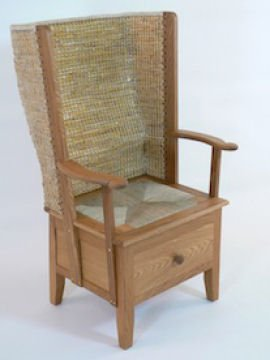 Gents Orkney chair with drawer by Kevin Gauld