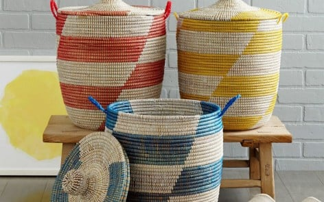 graphic baskets feature
