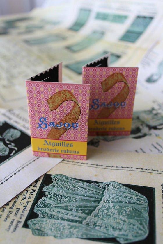 Sajou Haberdashery Needle Sets for sewing ribbon