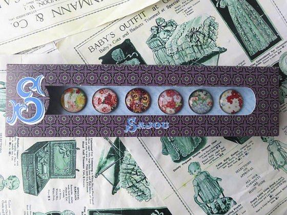 Sajou haberdashery set of buttons