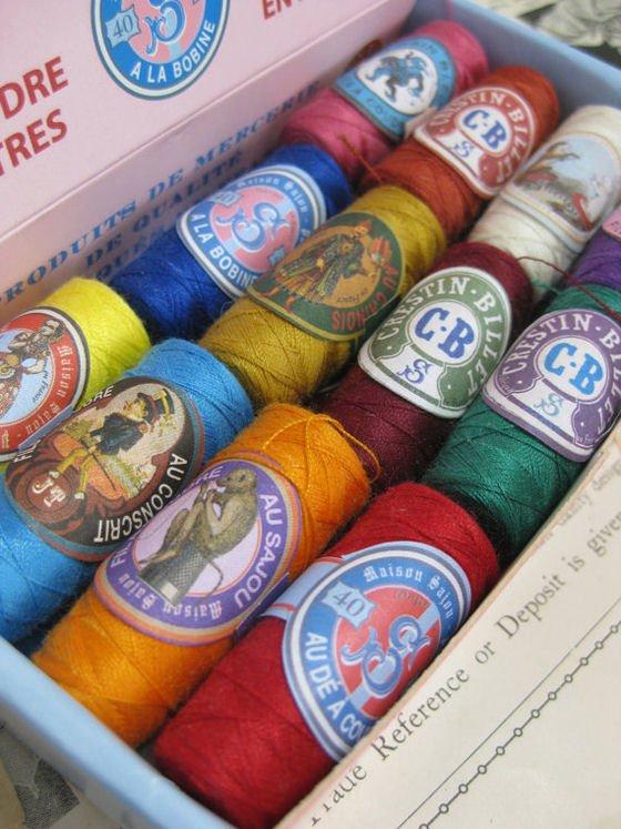 Sajou haberdashery - mixed sewing threads