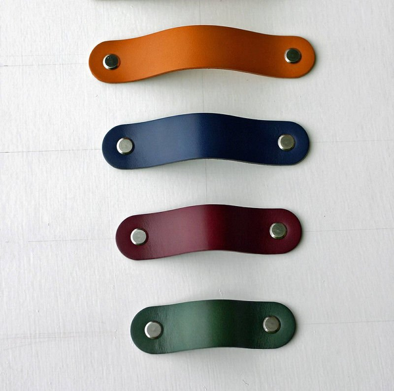 Leather handles from the The Leather Handle Co at Etsy UK
