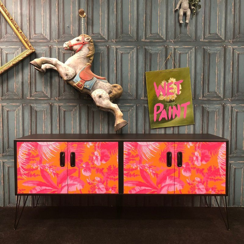 Etsy homewares and furniture - Gplan sideboard upcycled by Muck N Brass